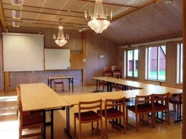 Konferens i sal Riddarcrona